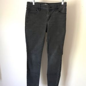 Loft grey skinny jeans